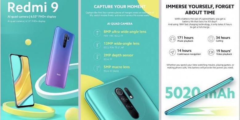 Rumor Xiaomi Redmi 9