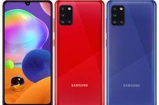 Samsung Umumkan Galaxy A31, Ponsel 4 Kamera dengan Baterai 5.000 mAh