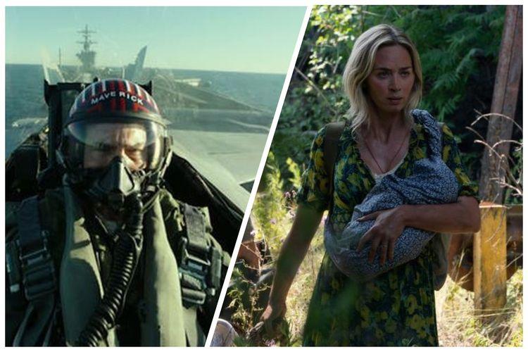 Rilis film Top Gun: Maverick dan A Quiet Place 2 ditunda hingga tahun depan