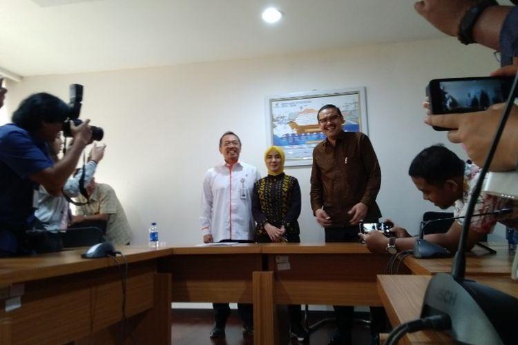 Kementerian BUMN resmi tunjuk Nicke Widyawati sebagai Direktur Utama Pertamina yang baru, Rabu (29/8/2018).