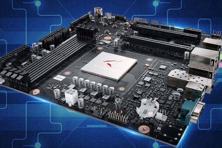 Huawei siapkan motherboard perdananya Kunpeng 920 ARM v8