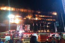 Damkar DKI Jakarta: Struktur Bangunan Kejaksaan Agung Mudah Terbakar