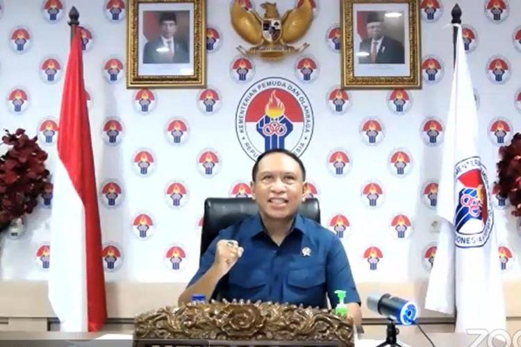 Menteri Pemuda dan Olahraga Republik Indonesia (Menpora RI) Zainudin Amali.