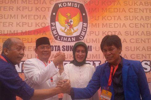 Pilkada Kota Sukabumi, Pasangan Mulyono-Ima Slamet Daftar Pertama ke KPU