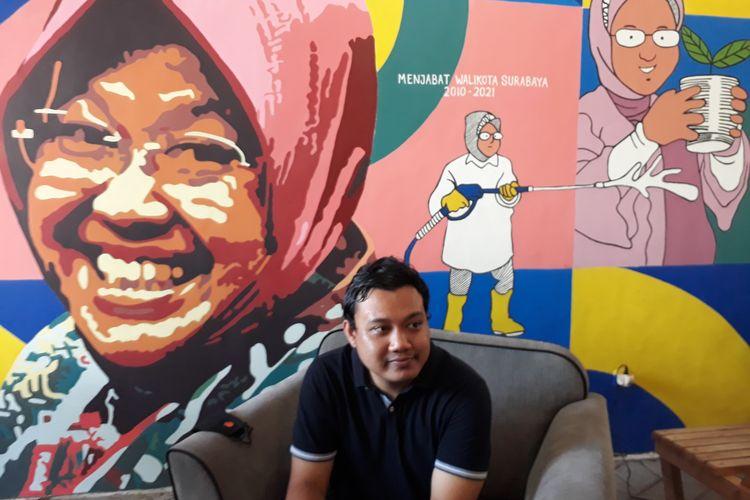 Putra sulung Wali Kota Surabaya Tri Rismaharini, Fuad Bernardi, siap dicalonkan jadi Wakil Wali Kota Surabaya pada Pilkada Surabaya 2020.