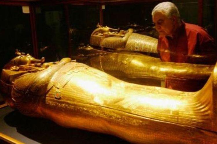 Sarkofagus Raja Tutankhamun.