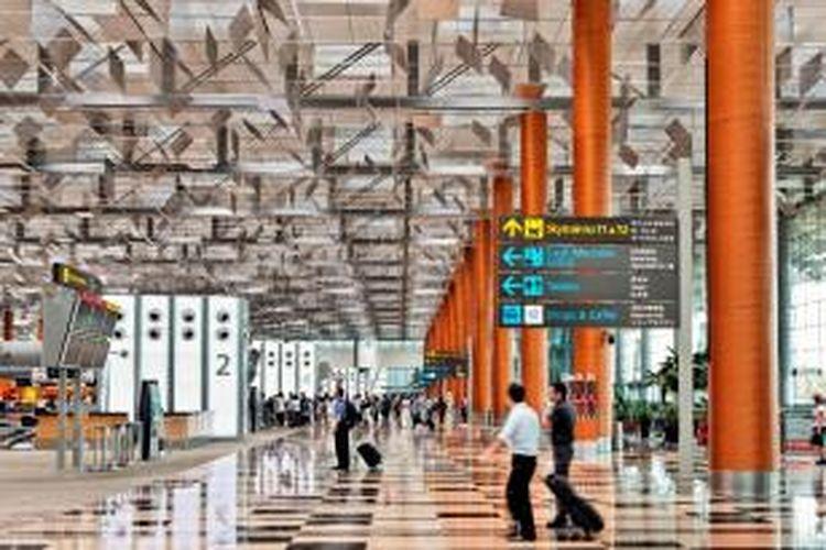 Terminal 3 di Bandara Changi Singapura