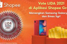 Lida 2021 Masuk Babak Top 21, Vote Duta Favorit Bisa Dilakukan di Shopee