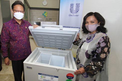 Unilever Donasikan 1.400 Lemari Berpendingin ke Pemerintah untuk Penyimpanan Vaksin