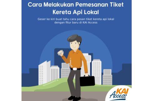 Bagi Warga Bandung, Kini Tiket Kereta Lokal Bisa Dipesan Via Aplikasi