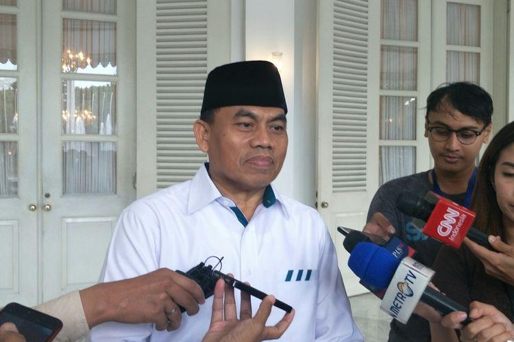 Sekretaris Daerah DKI Jakarta Saefullah di Balai Kota DKI Jakarta, Jalan Medan Merdeka Selatan, Jumat (14/2/2020).