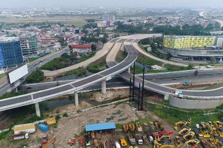 Ruas Jalan Tol Lingkar Luar Jakarta II (JORR) yang bisa digunakan pada akhir tahun ini.