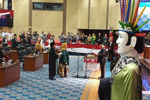 DPRD DKI Lantik 1 Anggota yang Sebelumnya Tak Hadir