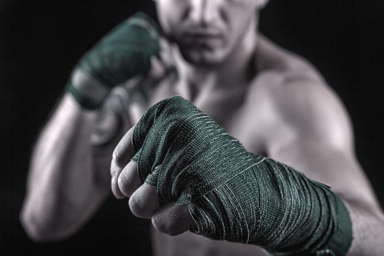 Olahraga beladiri membentuk tubuh berotot