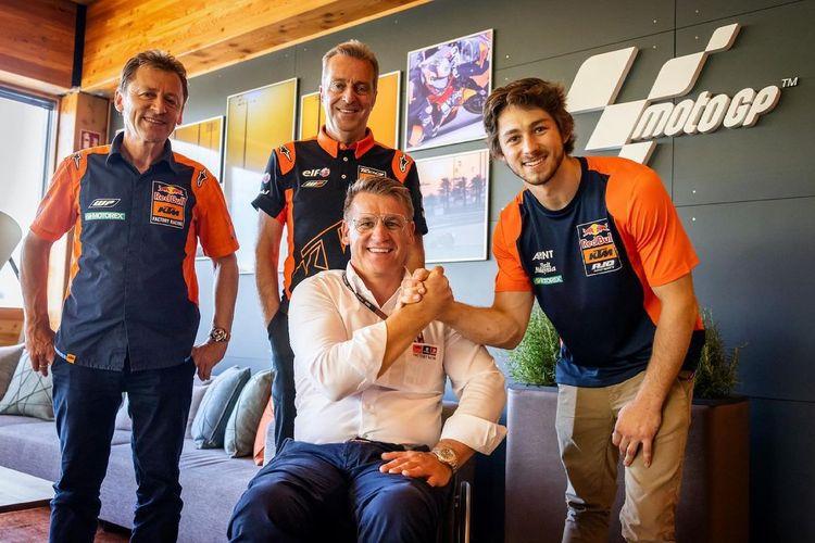 Remy Gardner resmi akan masuk ke MotoGP mulai musim 2022 bersama Tech 3