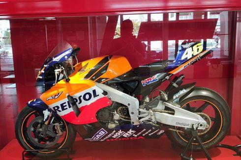 Melihat Motor Honda Valentino Rossi di Suzuka [VIDEO]