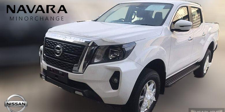 Bocoran Nissan Navara facelift