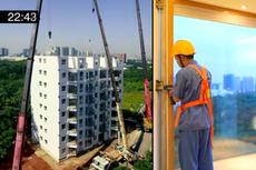 Fantastis!, Perusahaan China Bangun Apartemen 10 Lantai Cuma Sehari