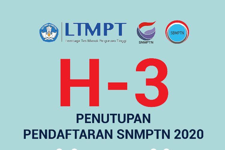 Ilustrasi penutupan pendaftaran SNMPTN 2020
