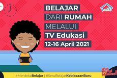 Jadwal dan Link Belajar dari Rumah TV Edukasi, Jumat 16 April 2021