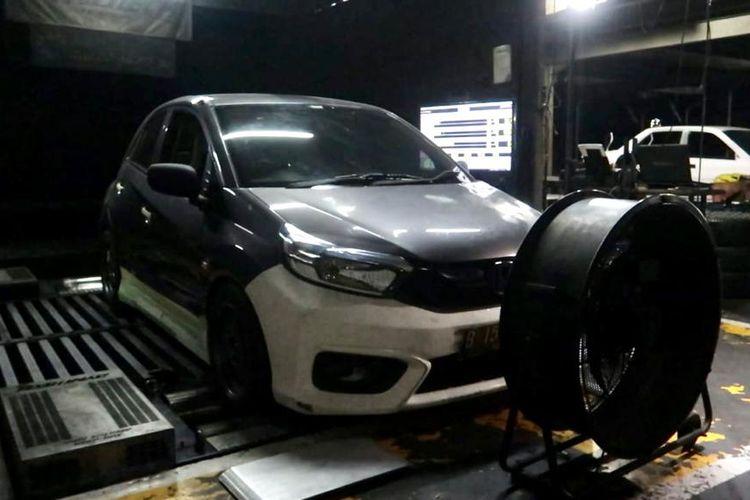 Modifikasi Honda Brio Supergiveaway IMX Pekanbaru