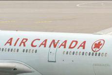 Tertidur, Seorang Penumpang Terkunci di Pesawat Air Canada