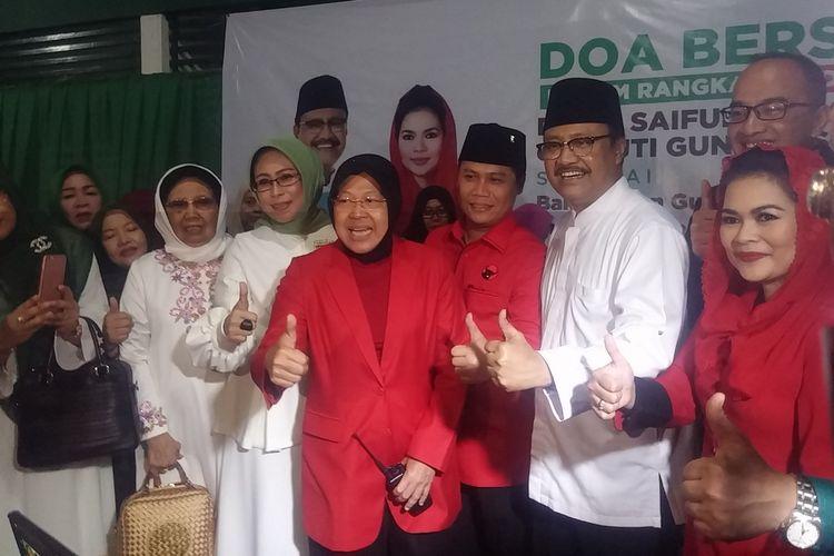 Puti Guntur Soekarno disambut di kantor PKB Jatim.