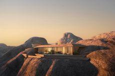 Desert Rock, Proyek Ambisius di Tengah Gunung Batu Arab Saudi