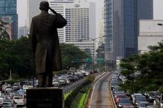 Uji Eksplorasi MRT di Jalan Sudirman Dikerjakan Malam Hari