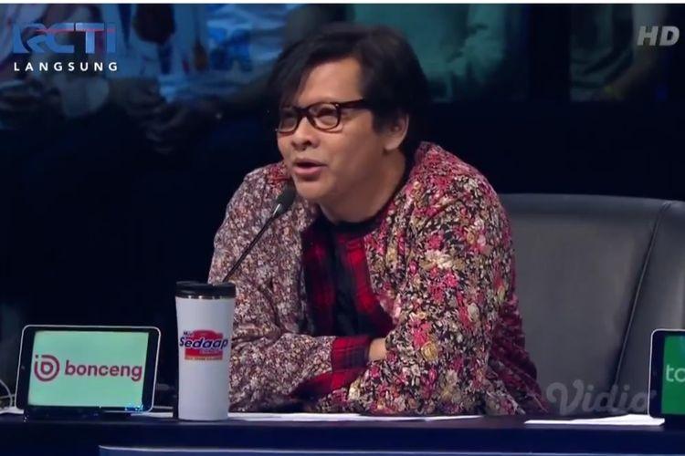 Penyanyi Armand Maulana jadi juri Indonesian Idol, Senin (5/11/2019).