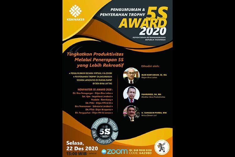 Poster Penghargaan 5S