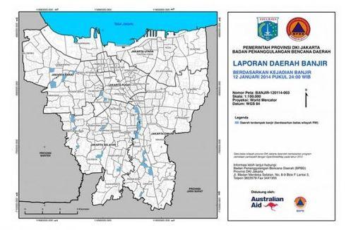 Pantau Banjir Jakarta Lewat Peta Digital
