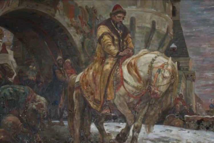 Lukisan tsar Rusia, Ivan The Terrible yang dinyatakan hilang setelah dicuri dari Ukraina saat Perang Dunia II.