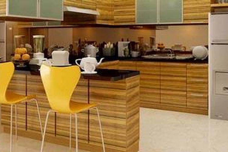 71 Ide Desain Dapur Plus Meja Makan HD Paling Keren Yang Bisa Anda Tiru
