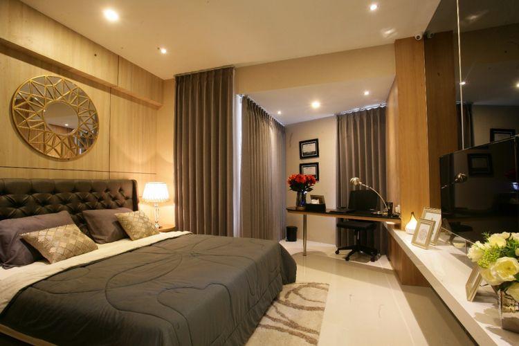 Tipikal interior Belleview Manyar, Surabaya.