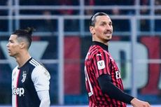 Milan Vs Juventus, Pioli Kembali Berharap kepada Zlatan Ibrahimovic