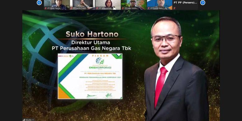 Direktur Utama PT Perusahaan Gas Negara Tbk (PGN) Suko Hartono.