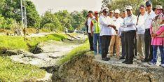 Kunjungi Palu, Mentan Kawal Distribusi Bantuan Korban Gempa Sulteng