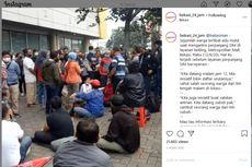 Warga Terlibat Cekcok Saat Antre Perpanjang SIM di Metropolitan Mall Bekasi