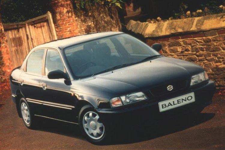 Ilustrasi Suzuki Baleno generasi pertama