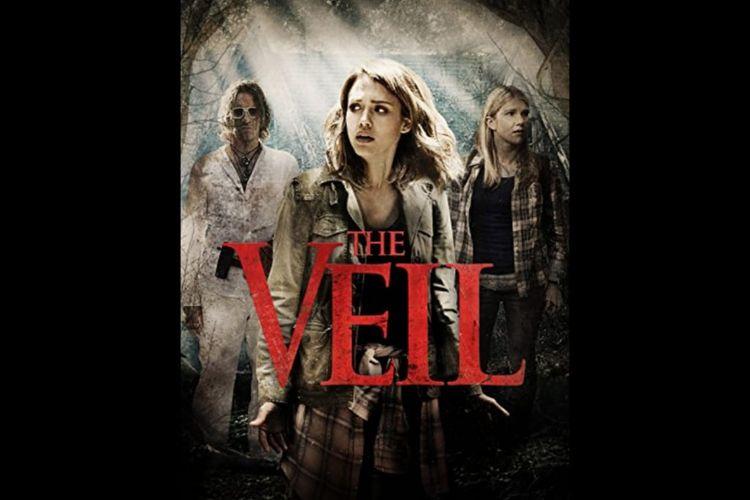 Poster film The Veil (2016) dibintangi Jessica Alba. Tayang di GTV malam ini (06/08/2020.