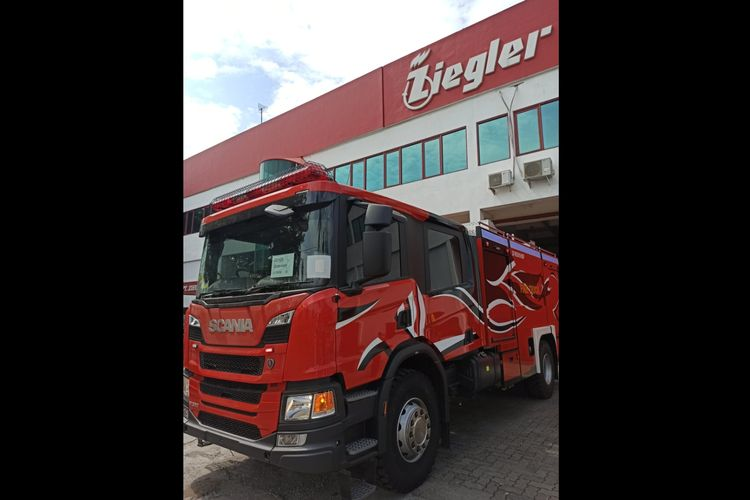 PT Ziegler Indonesia merilis kendaraan pemadam kebakaran khusus untuk industri oil & gas