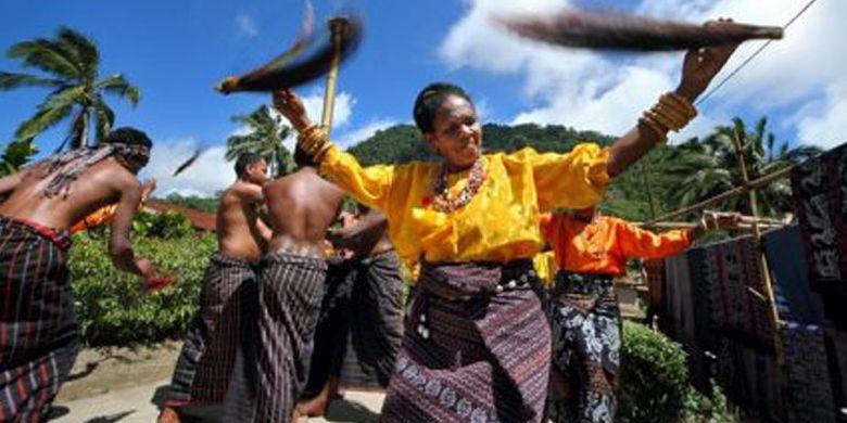 Desa Doka di Kabupaten Sikka, Flores, Nusa Tenggara Timur.