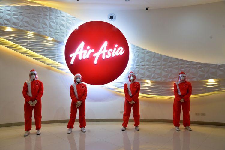 APD merah yang dikeluarkan AirAsia Philippines.