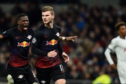 Hasil Tottenham Vs Leipzig, Gol Penalti Timo Werner Jadi Pembeda