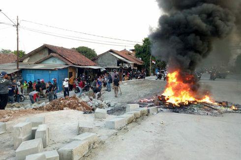 Warga Jelupang Tuntut Pelaksana Proyek Tol Serpong-Kunciran Tidak Tutup Jalan