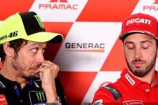 MotoGP Emilia Romagna, Kebohongan Rossi dan Ketidakpercayaan Dovizioso