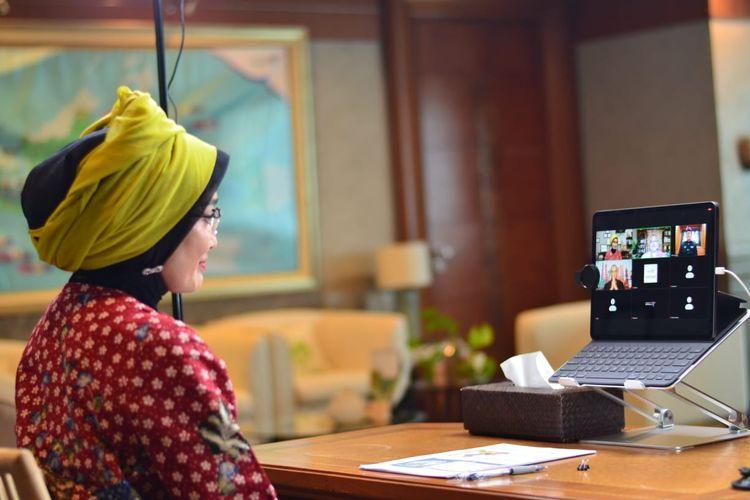 Webinar bertajuk The Future of Indonesian Tourism Marketing in India, Selasa (9/6/2020).