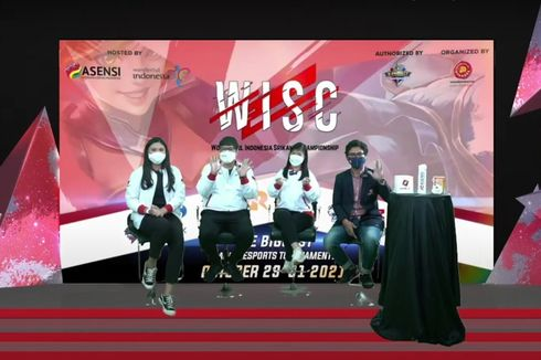 8 Tim Ladies Mobile Legends Bertanding pada Semifinal Wonderful Indonesia Srikandi Championship 2021