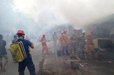 Kebakaran Rumah Makan di Koja, 4 Orang Alami Luka Bakar